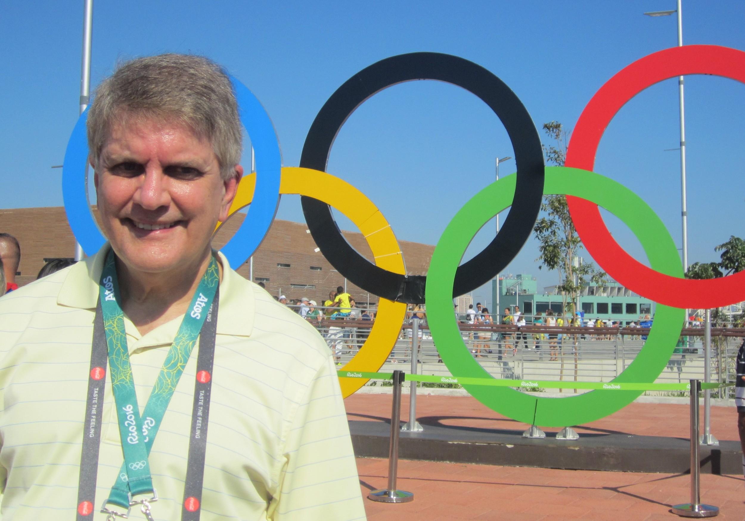 Richard Cunningham at the Rio 2016 Olympics