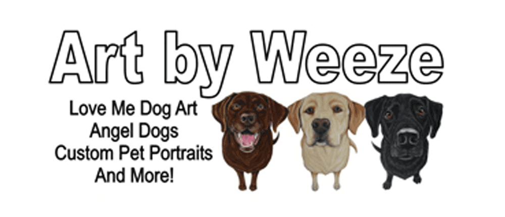 Type Labrador Life Line in the Note to Art by Weeze in the cart during check out and Labrador Life Line will receive a donation of 10% of the sale price.