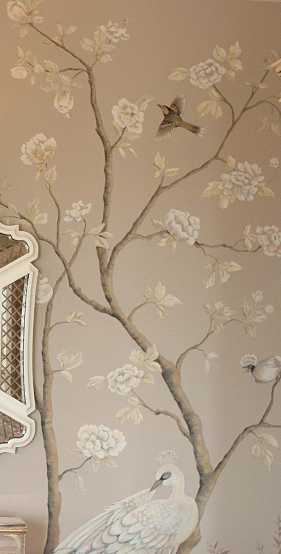 Chinoiserie Bedroom Mural