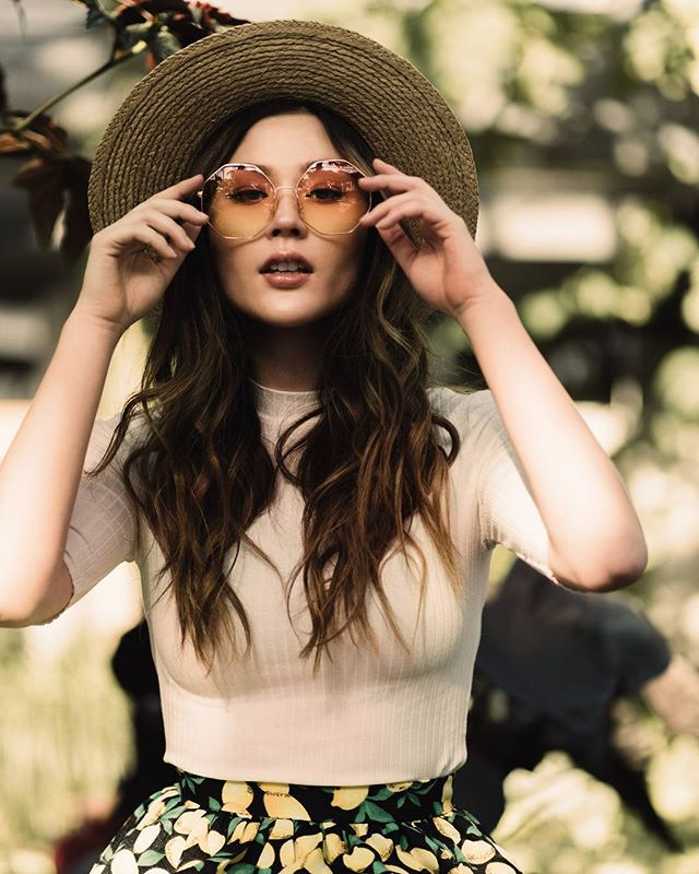 Oh hello Fri-yay, you're looking good. Spring has sprung, I found tulip shoots in the garden!  What are your plans for the freakin weekend? . . . . Model @kikobean  HMUA @emiliaartmakeup  Wardrobe @bamboo_ballroom_yyc  Stylist @bad.pce (Shades - photographer's own) . . . . . #gingersnapphotography #spring #fresh #portraitpage #portraitcollective #bleachmyfilm #lookslikefilm #heckyeahpresets #yycliving #inglewoodyyc #eastvillageyyc #hotisthenewblack #uniteddivision #huffpostgram #refinery29 #yycportraitphotographer #yycphotographer #bossbabe