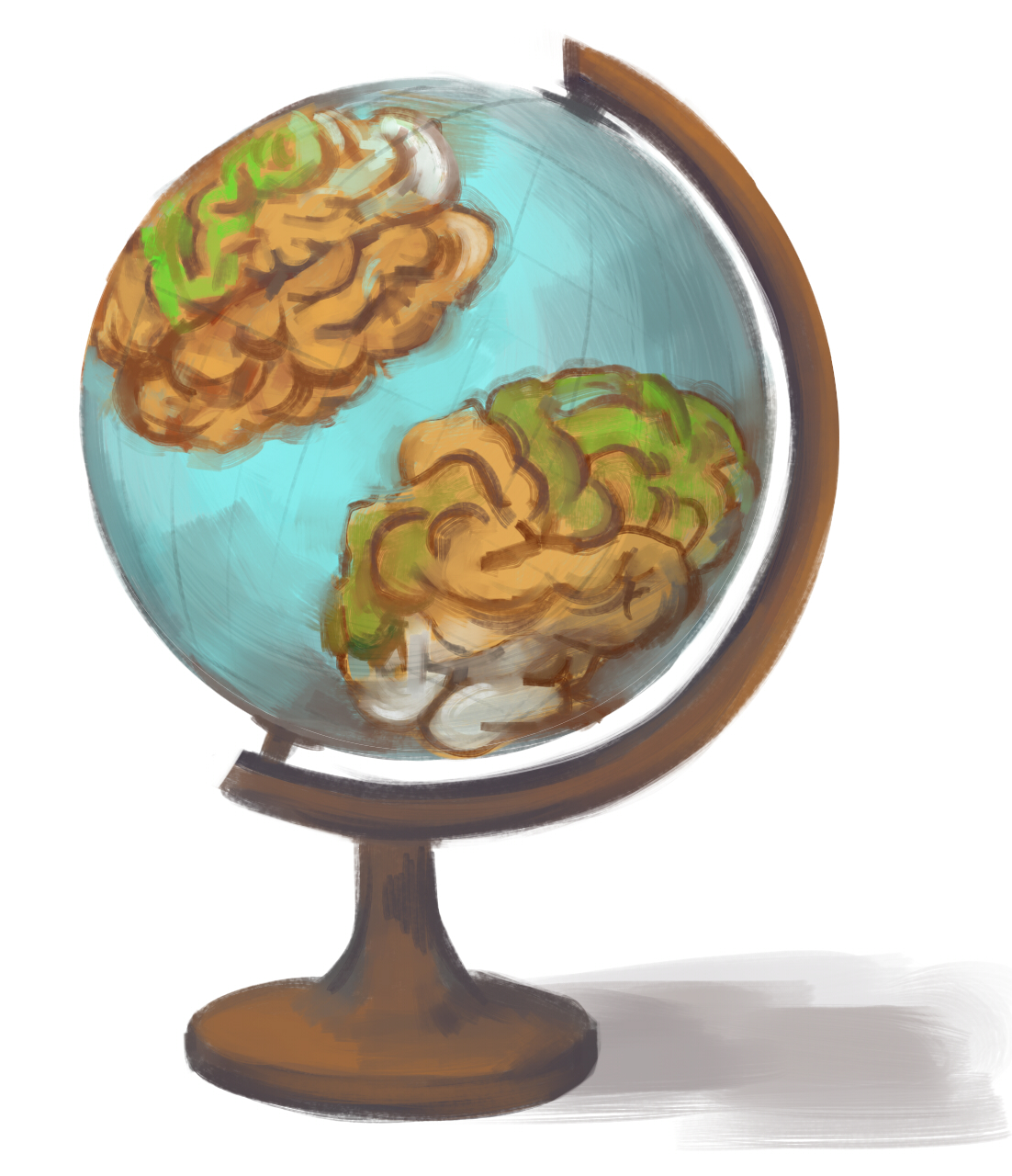 How many times will we need to revise our brain maps? Image by TomaTheSpook.