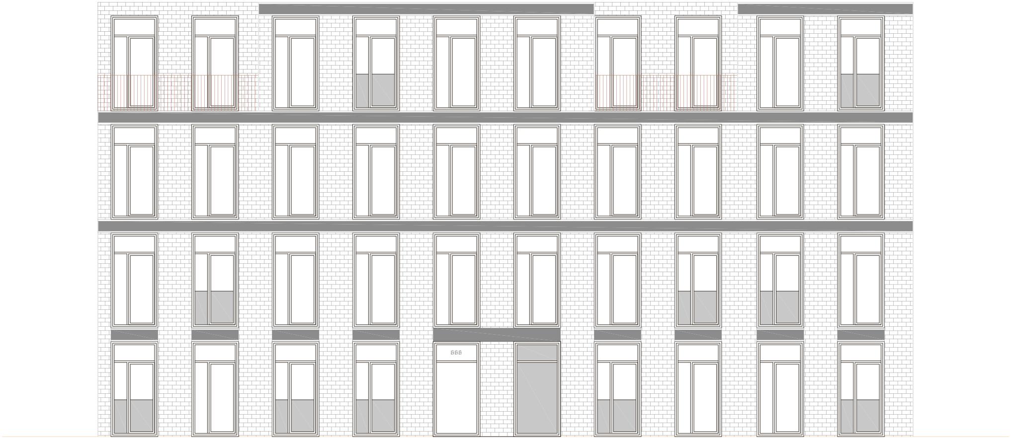 4 étages = densité 2.51