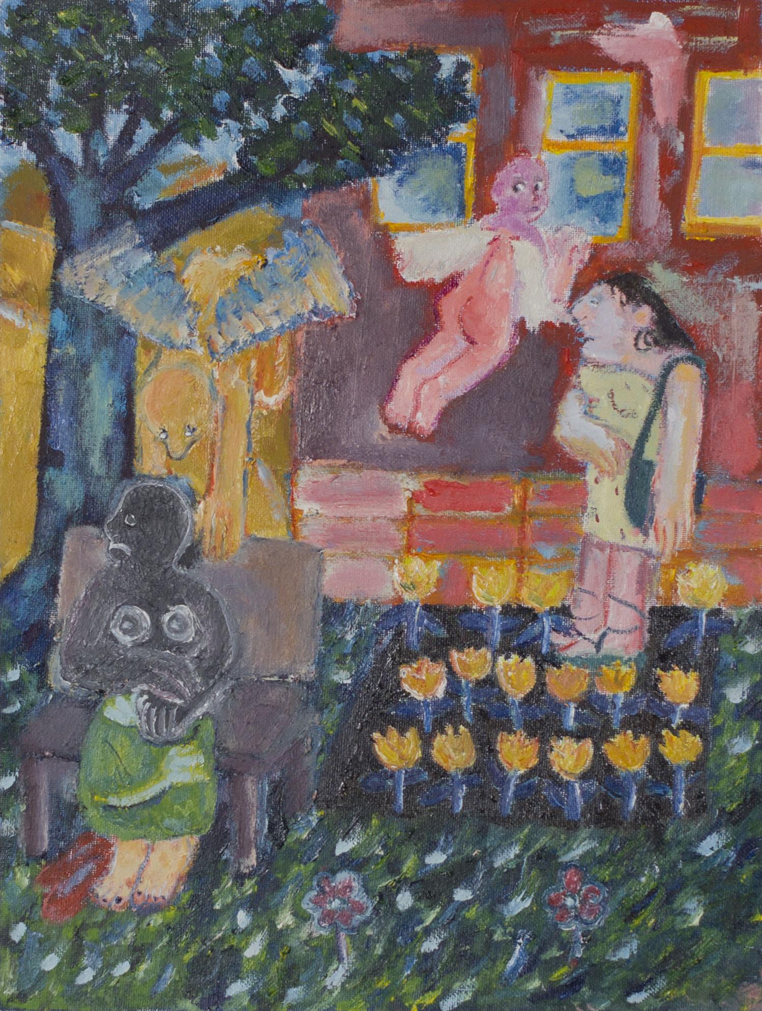 "12"" x 16"" , oil on canvas , 2019"