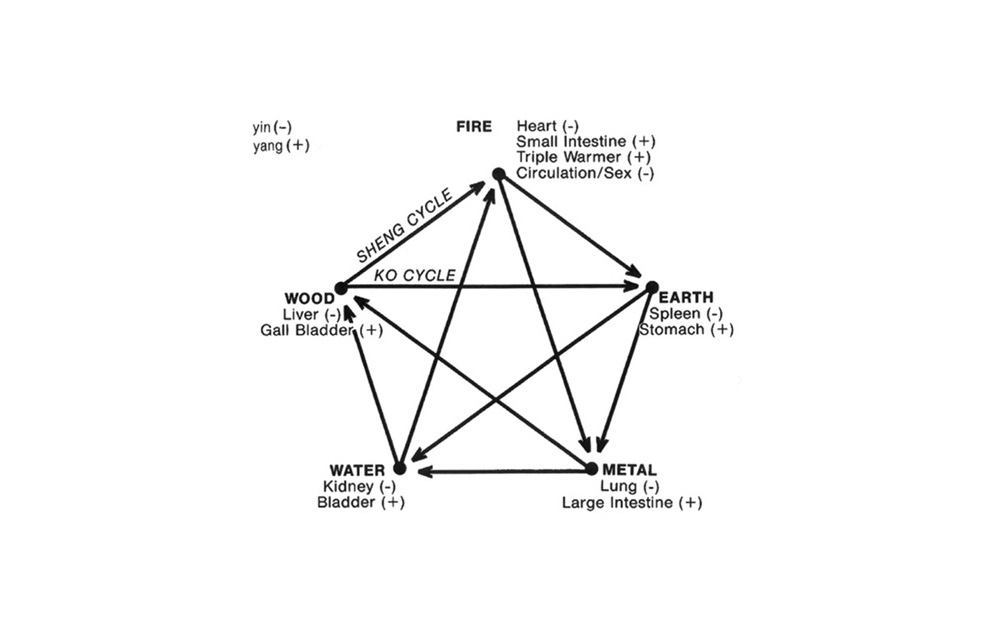 The above chart demonstrates the relationship which exists between the earth elements and the physical human body.