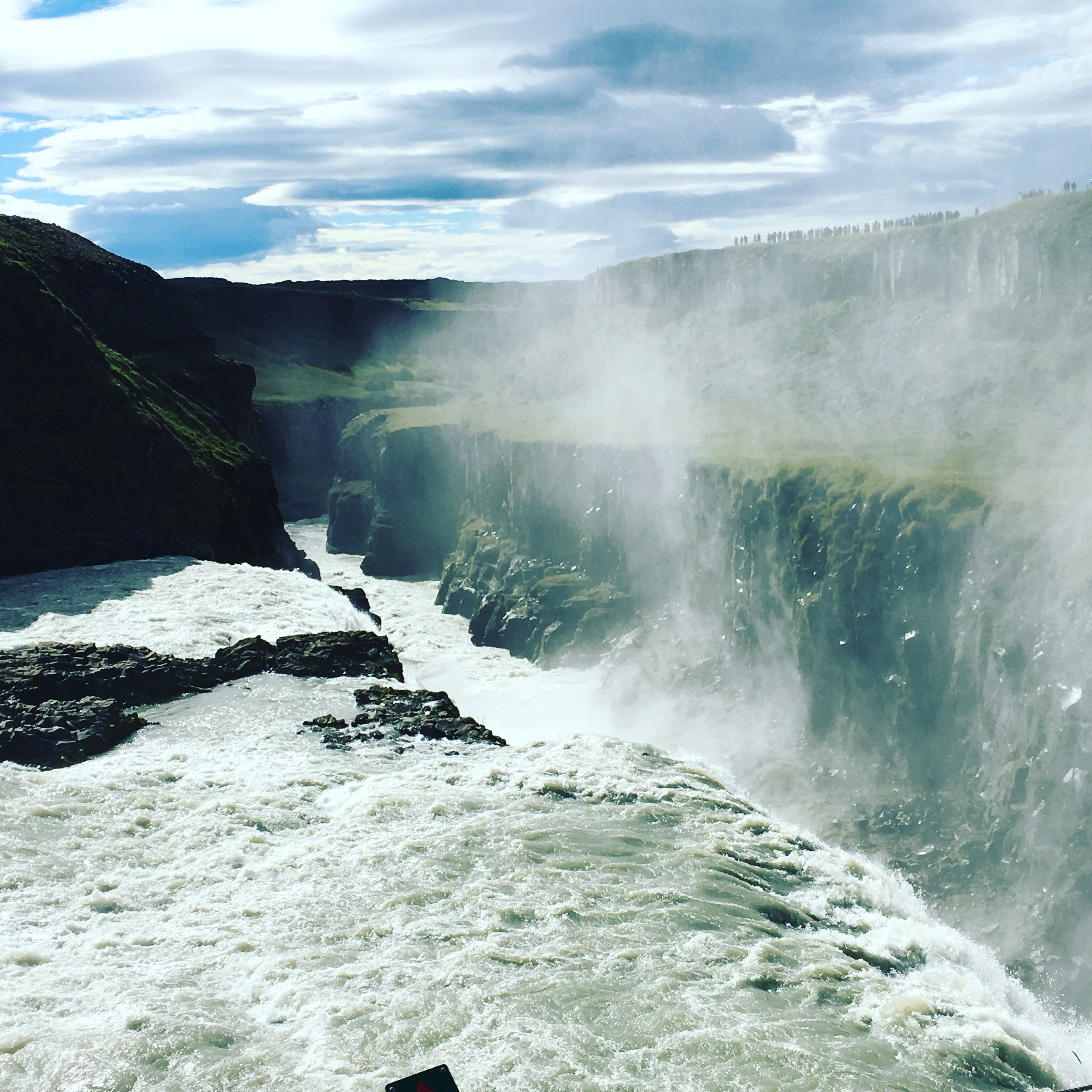 "Gullfoss in the ""Golden Circle"""