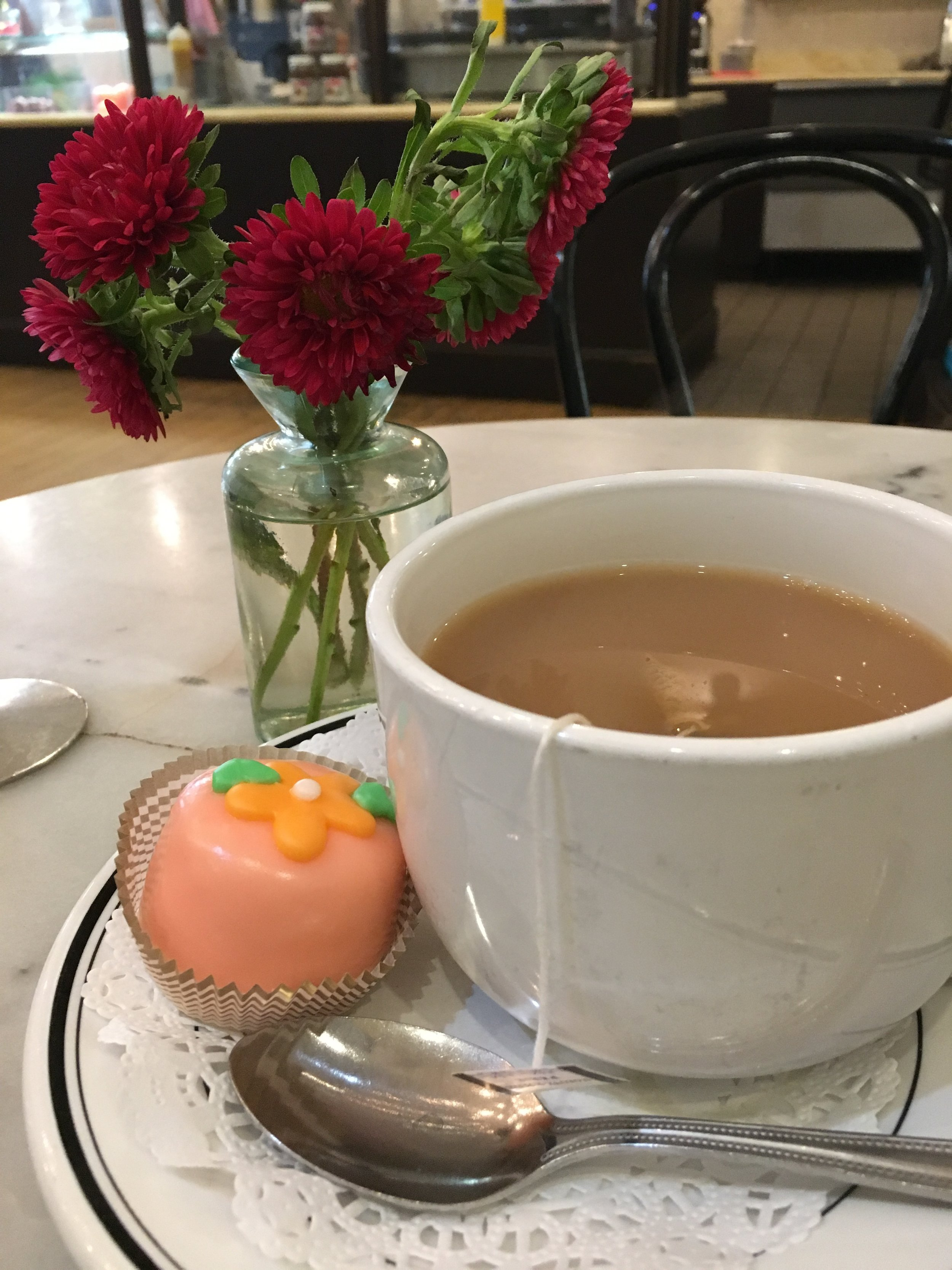 Petite Fours and Paris Tea at Toni