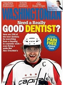Washingtonian Top Dentist April 2011
