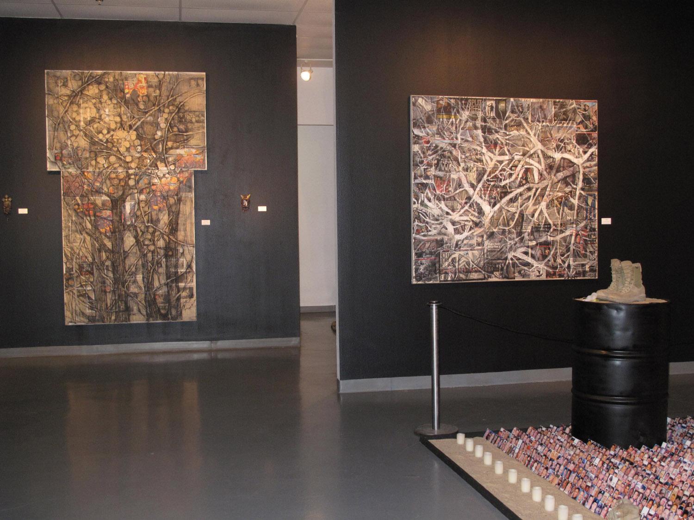 2aj(3) - Tangles, w Barren Fruit, , installation at Art Car Museum, 2011.jpg