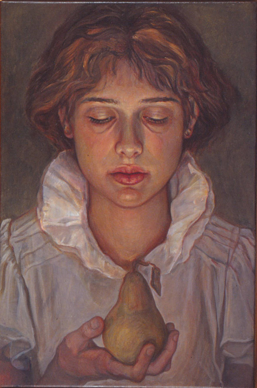 5di(0) - The Offering -oil on canvas, 24x16 in. 1988.jpg