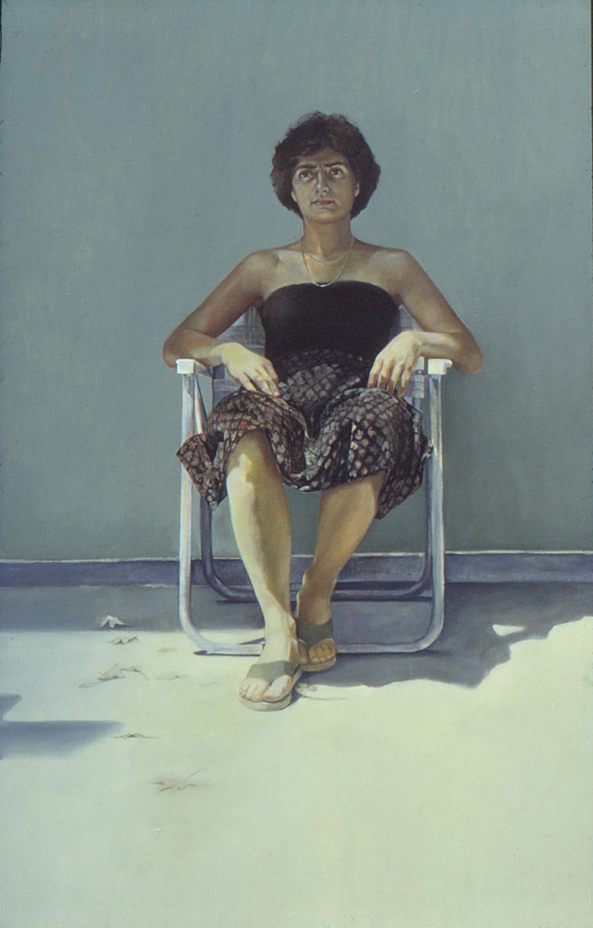 5dq - My Own Issue - oil on canvas, 64x41 in., 1980.jpg