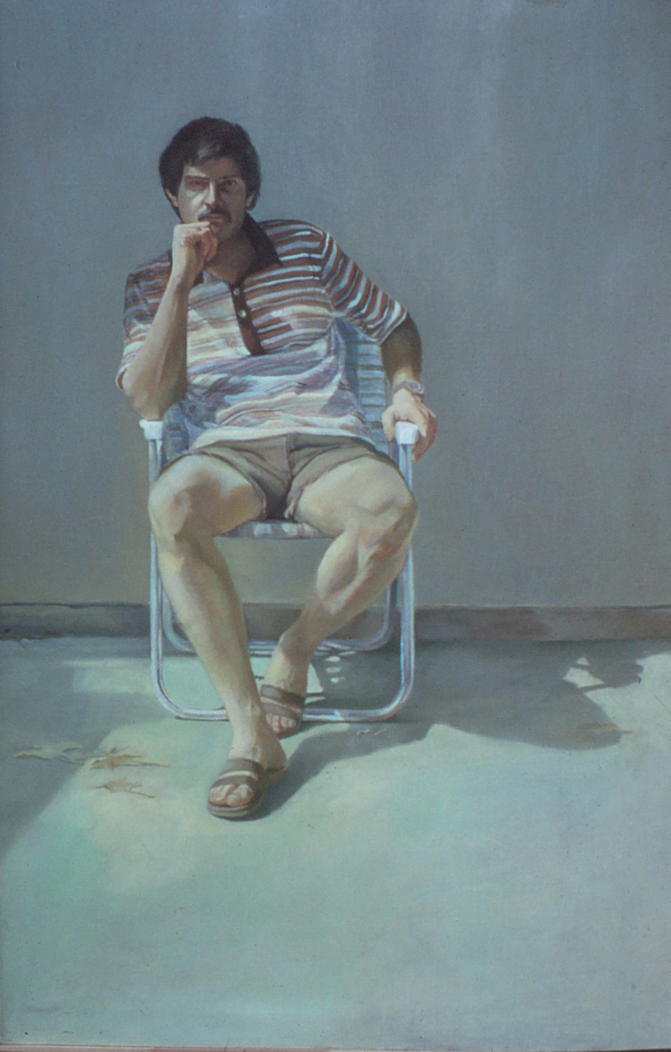 5dr(0) - My Alter Issue - oil on canvas, 64x41 in., 1980.jpg