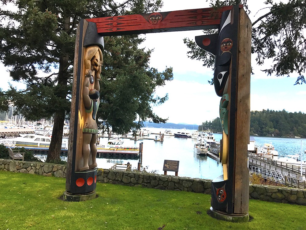 Music in the Park - Friday Harbor Totem Poles