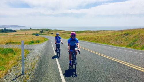 Biking on San Juan Island - Cattle Point
