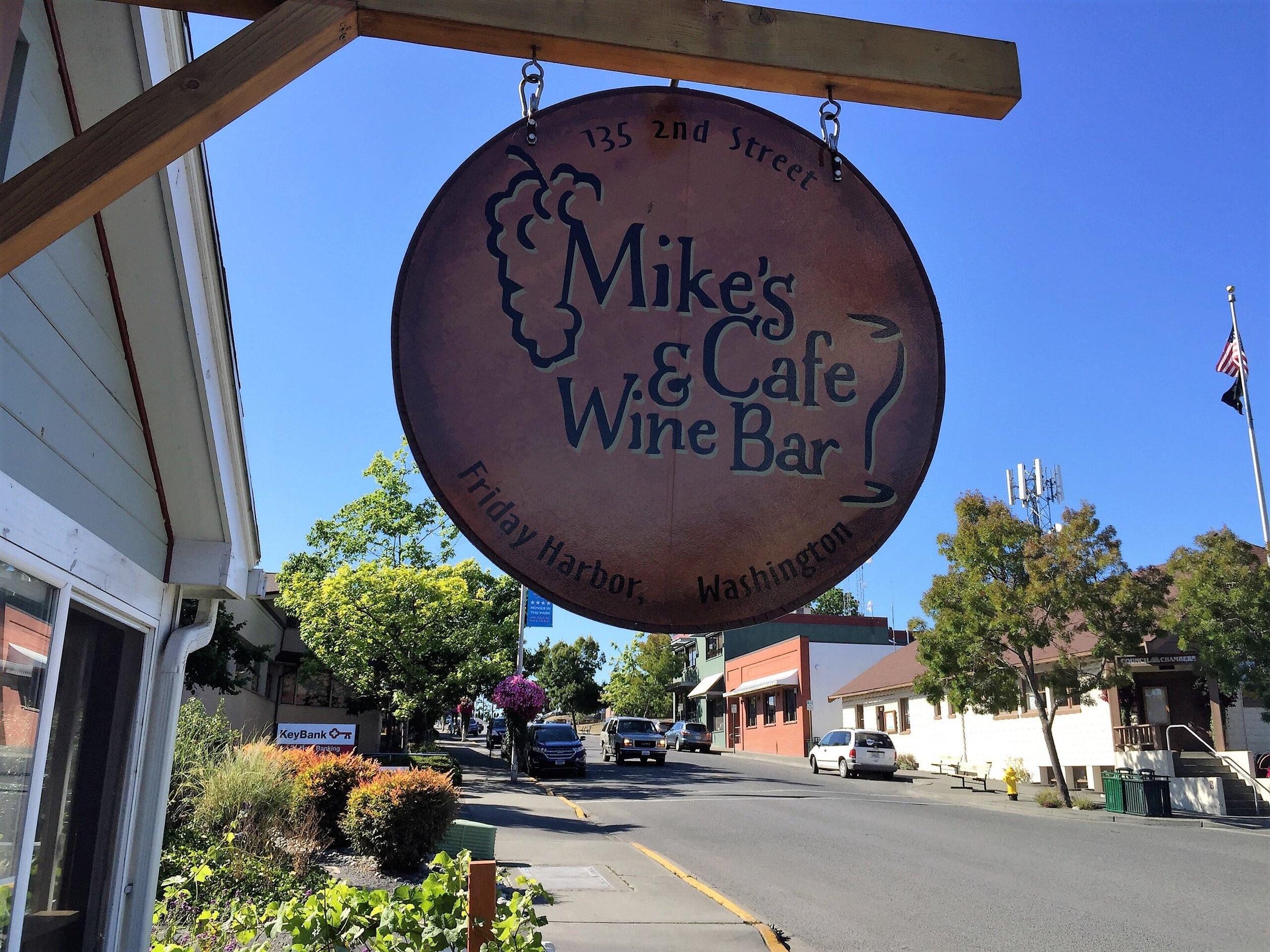 Hike a few blocks to Mike's Wine Bar
