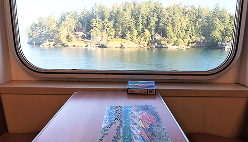 Puzzles on the Washington State Ferry