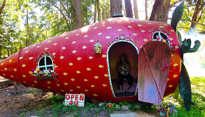 Secret Fruit House