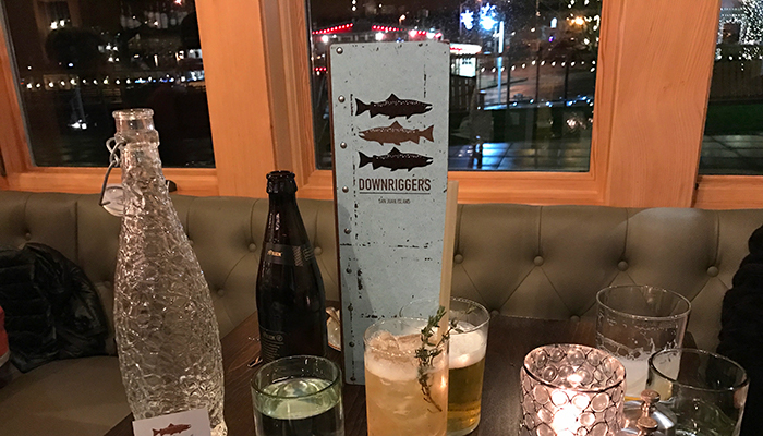 Refreshing Cocktails at Downriggers