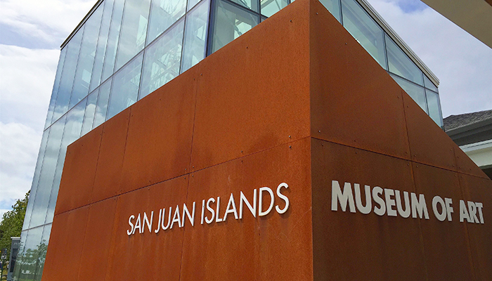 San Juan Islands Museum of Art and its Cool Foyer