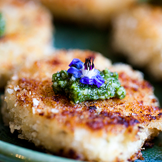 The Dungeons Crab Cakes at COHO Restaurant