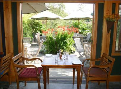 Garden Oasis at the Back Door Kitchen
