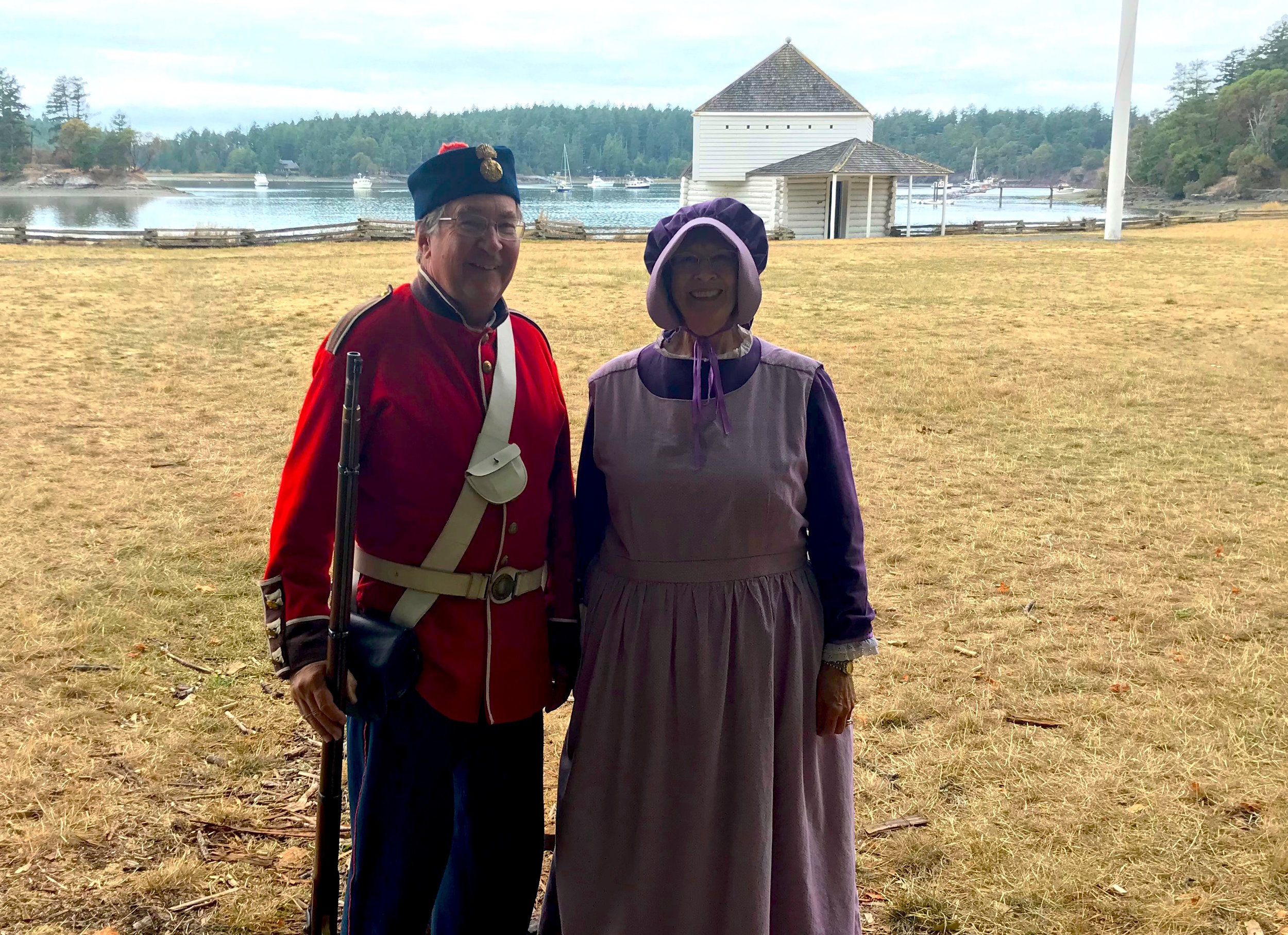 Enjoy re-enactments of the Pig War and 19th Century life every Summer Saturday at English Camp National Historical Park