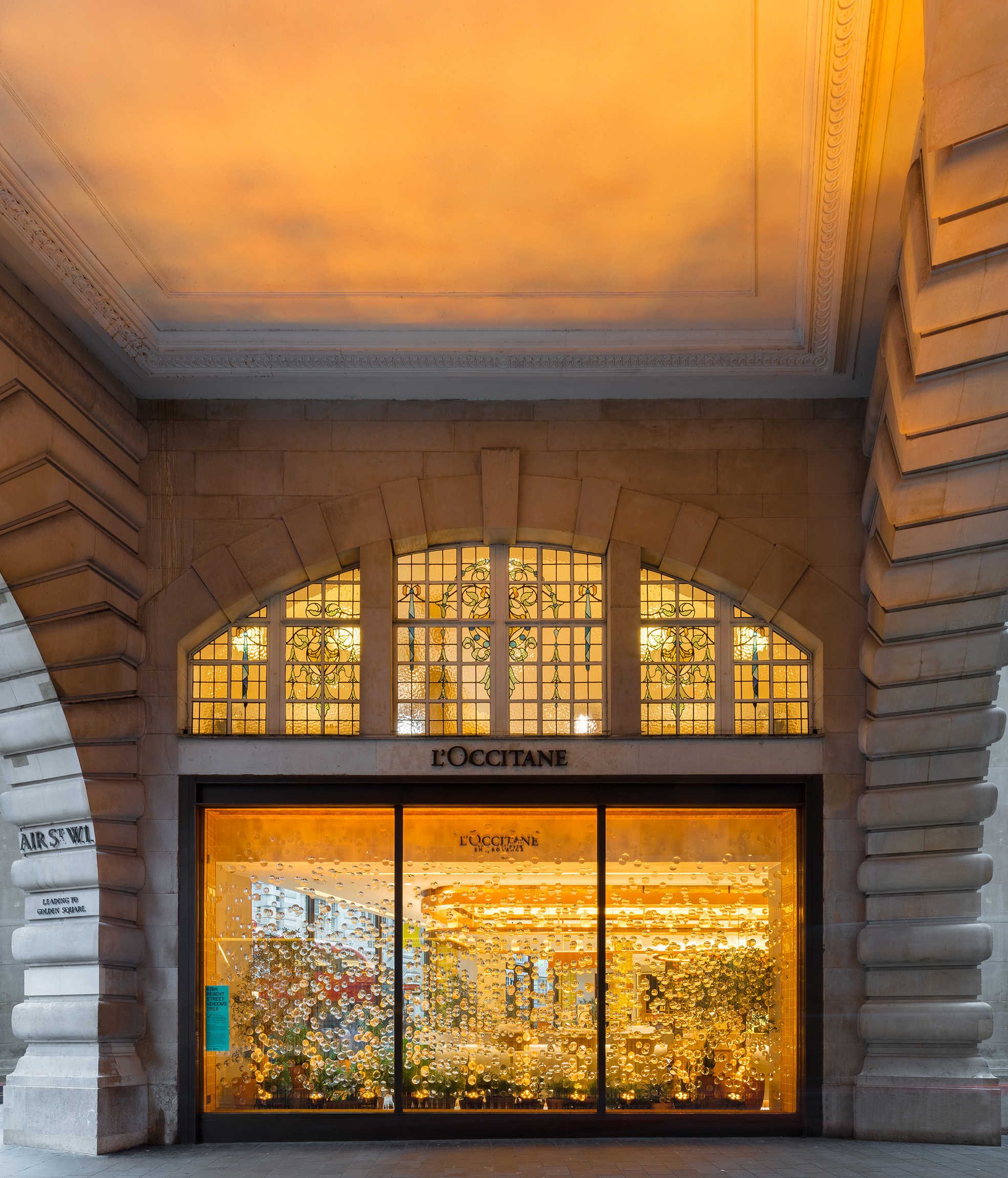 NEWS  Nicholas Szczepaniak Architects collaborates with L'Occitane as part of RIBA Regent Street Windows 2018