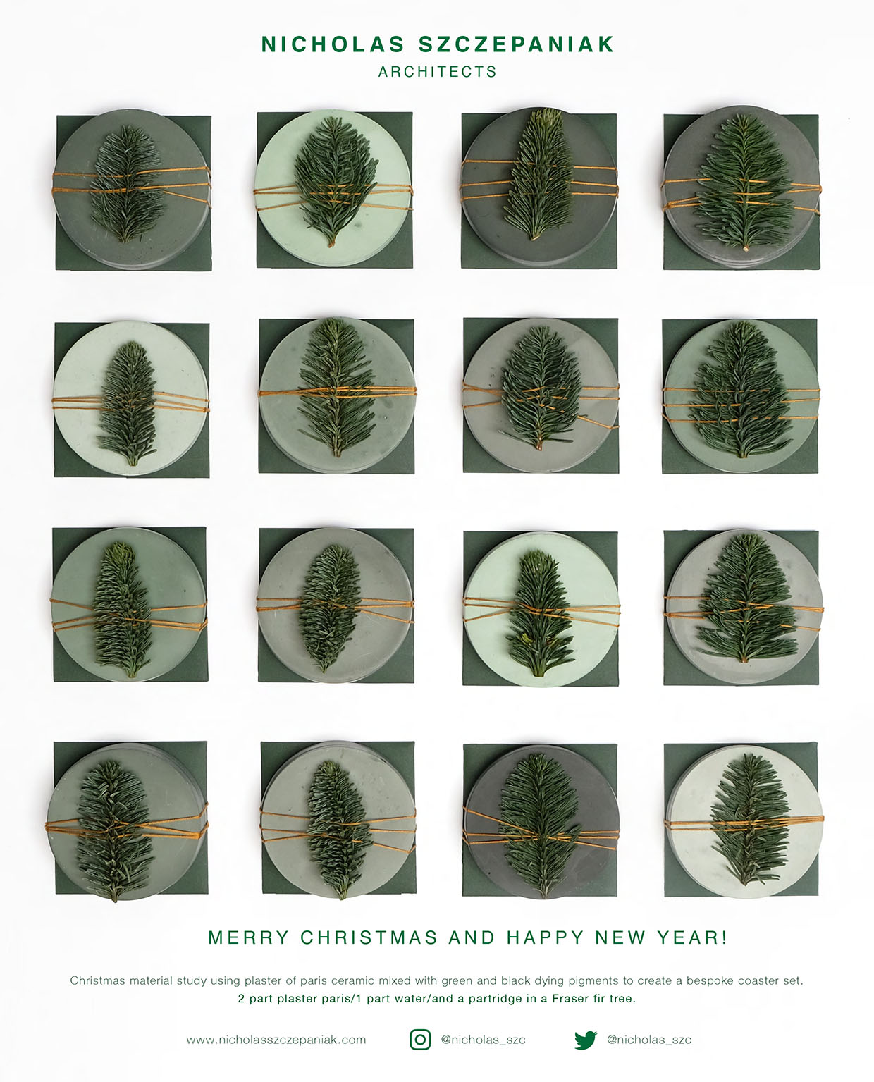 NEWS  Merry Christmas from Nicholas Szczepaniak Architects!
