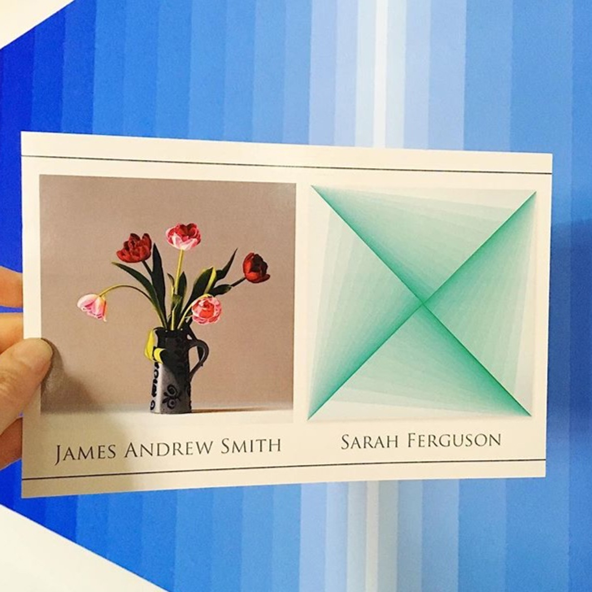 The announcement cards have arrived! Opening reception for my shared show with  James Andrew Smith  is Saturday, June 4 from 6-8pm at  Wally Workman Gallery .