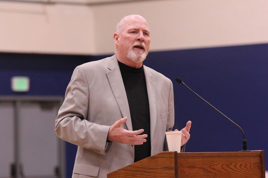David A. Koop, Speaking.JPG