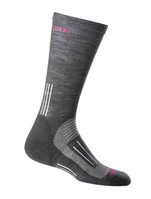 I like a crew sock because they give a little more ankle support and I can wear them over my leggings. Click the photo to shop, these babies are currently buy 1 get 1 50% off!