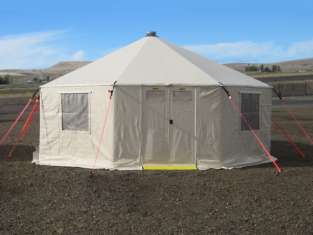 Western Shelter GK20 command and control shelter