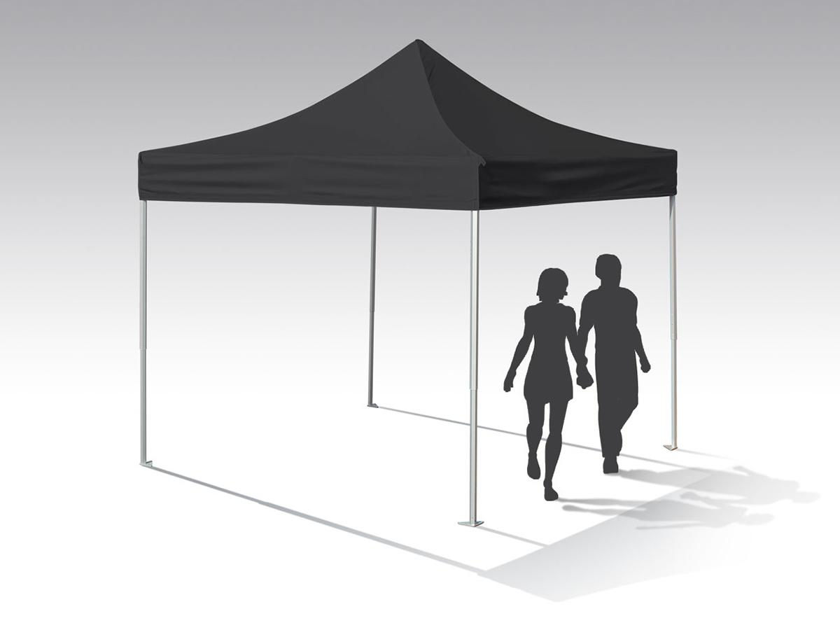 Western Shelter 10x10 ruggedized pop-up tent
