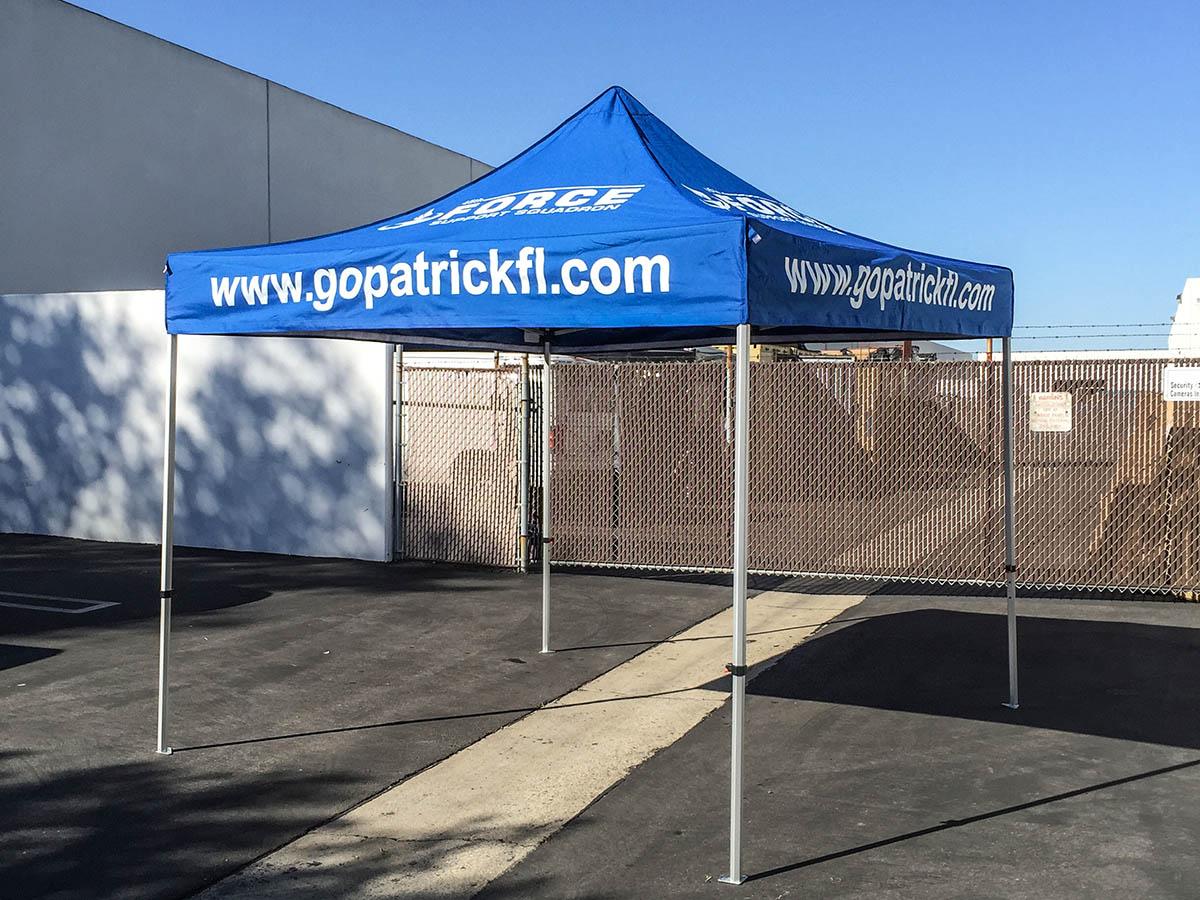 Western Shelter Custom printed Pop-up tent