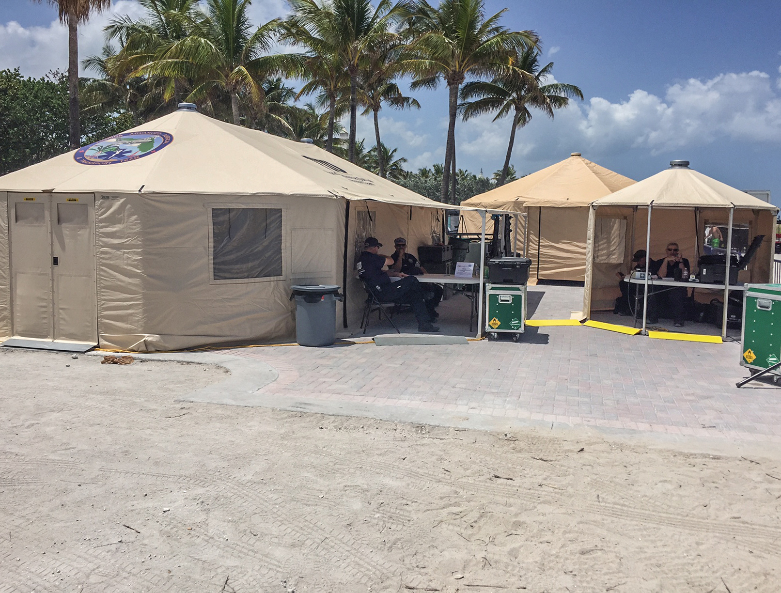 FIU-FAST making good use of the  1935 Awning Kit  on Miami Beach