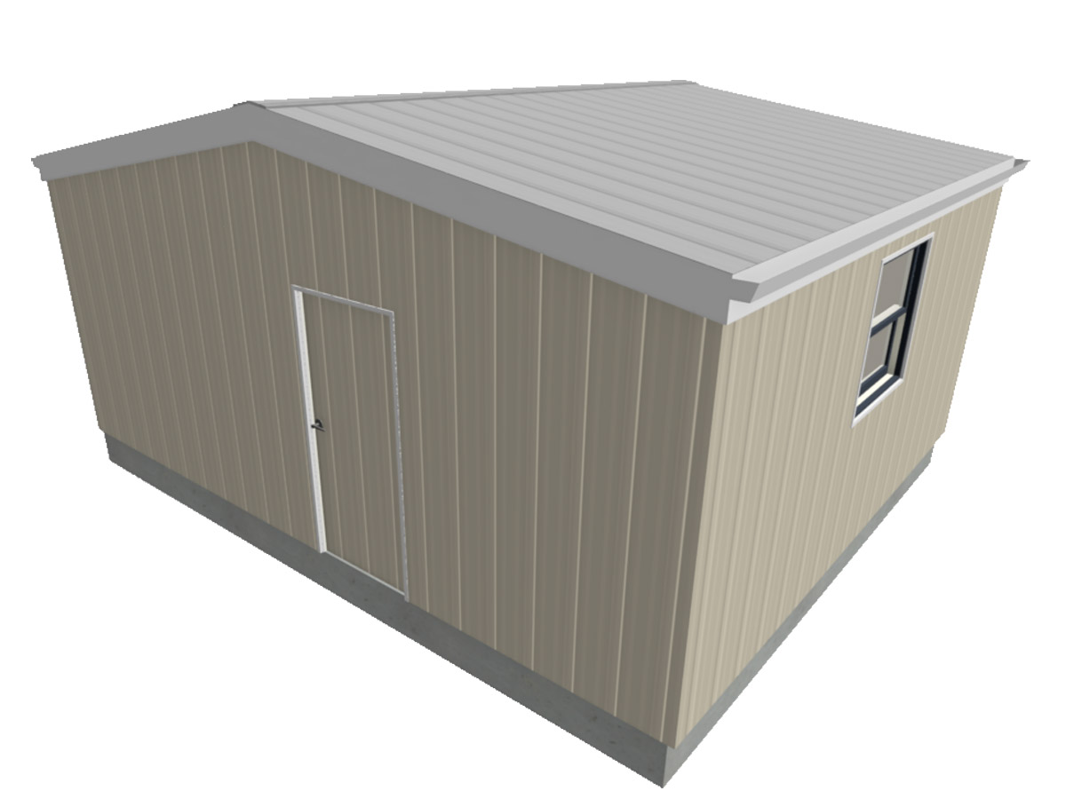 Western Shelter MRH 1815 temporary Shelter Modular Relief Home