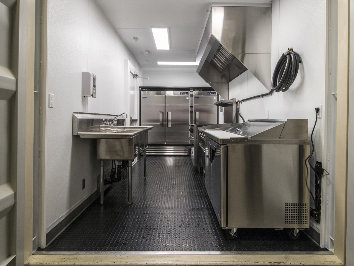 Western Shelter Mobile Container Kitchen