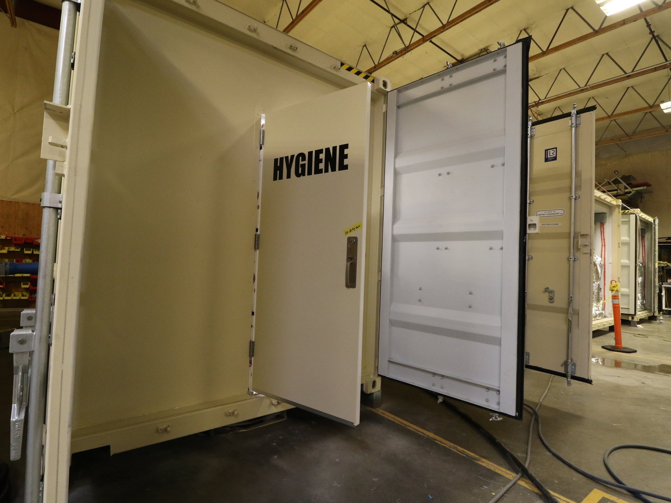 Western Shelter Containerized Shelter Hygiene Self Contained Container