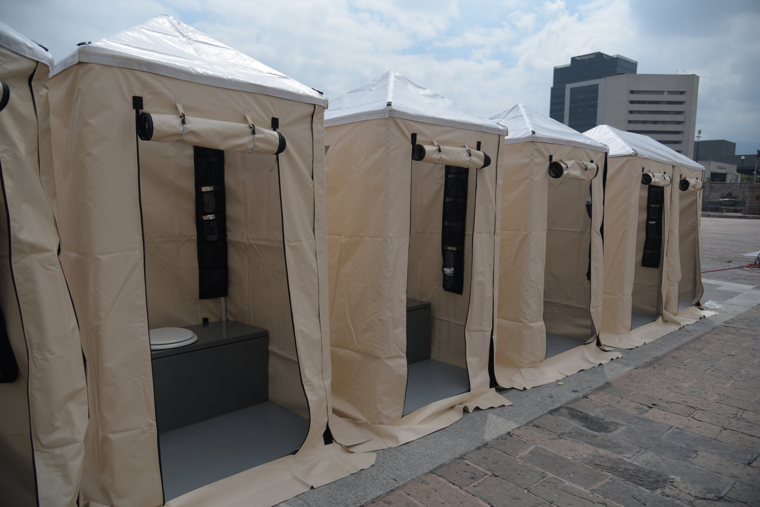shelter toilets