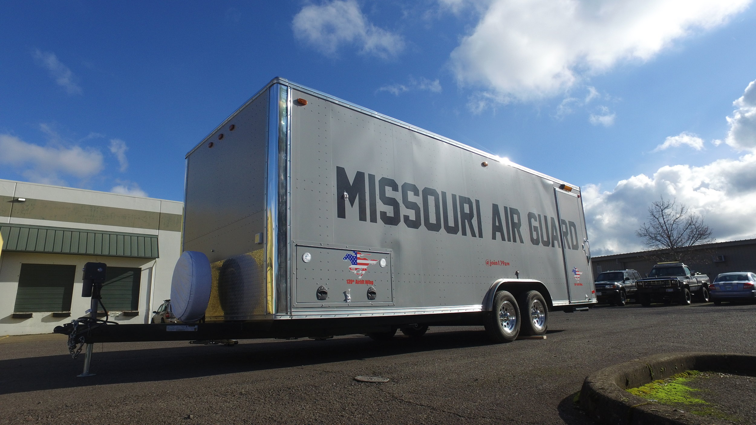 Missouri Air National Guard Trailer