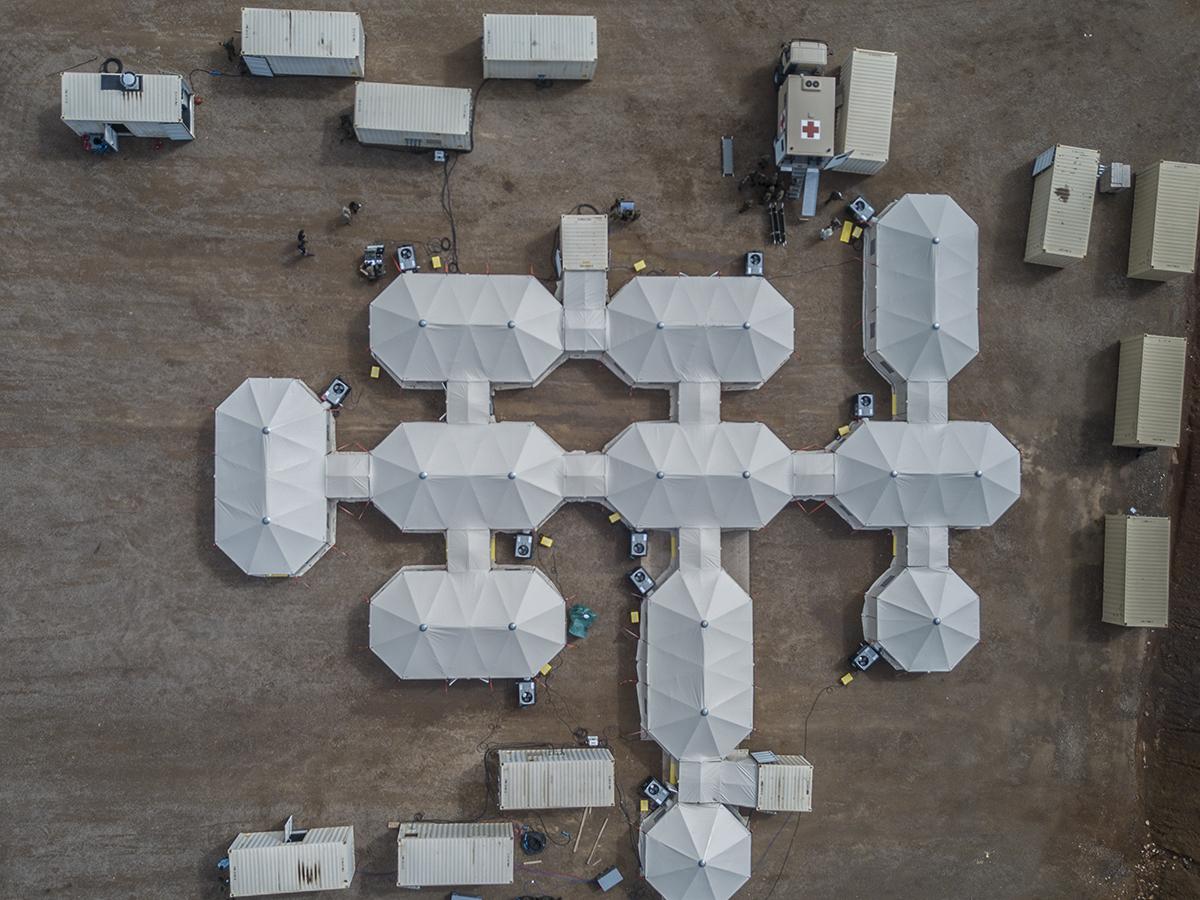 field hospital drone
