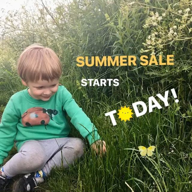🌞We're celebrating Summer finally arriving with 30% off ALL ORDERS until Friday 5th July. Just enter SUMMER at the checkout 🌞🐞🐝