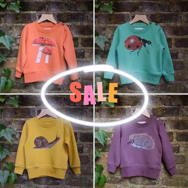 We are having a BIG sale this month through @babyccinokids. All sweaters in our current collection have 50% off, while stocks last. Just add AUTUMN at the checkout to receive your discount. There is very low stock on several sizes, so order soon to avoid disappointment! Link in profile or find us on @babyccinokids SPECIAL DEALS page, where you'll find many more lovely offers! 🍄&🐞 xx