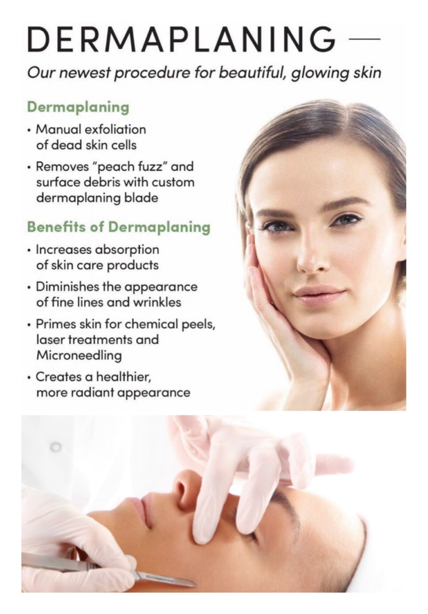 Single sessions $95  Add on :  Custom chemical  peel $40  Microdermabrasion $40  Oxygen fusion $25