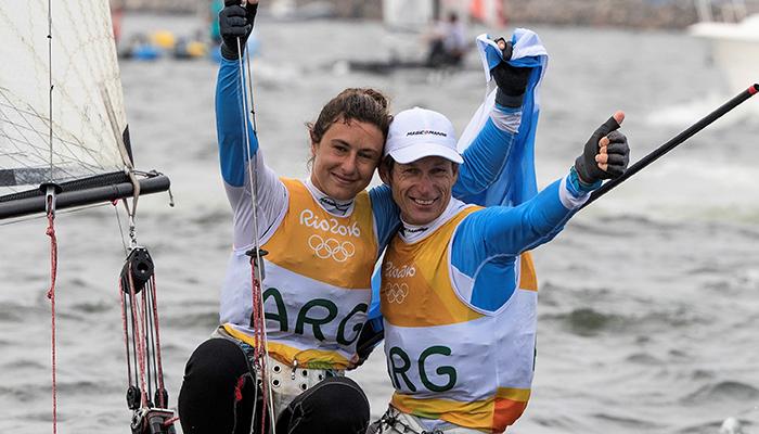 Santiago Lange & Cecilia Carranza Saroli - Photo by Matias Capizzano