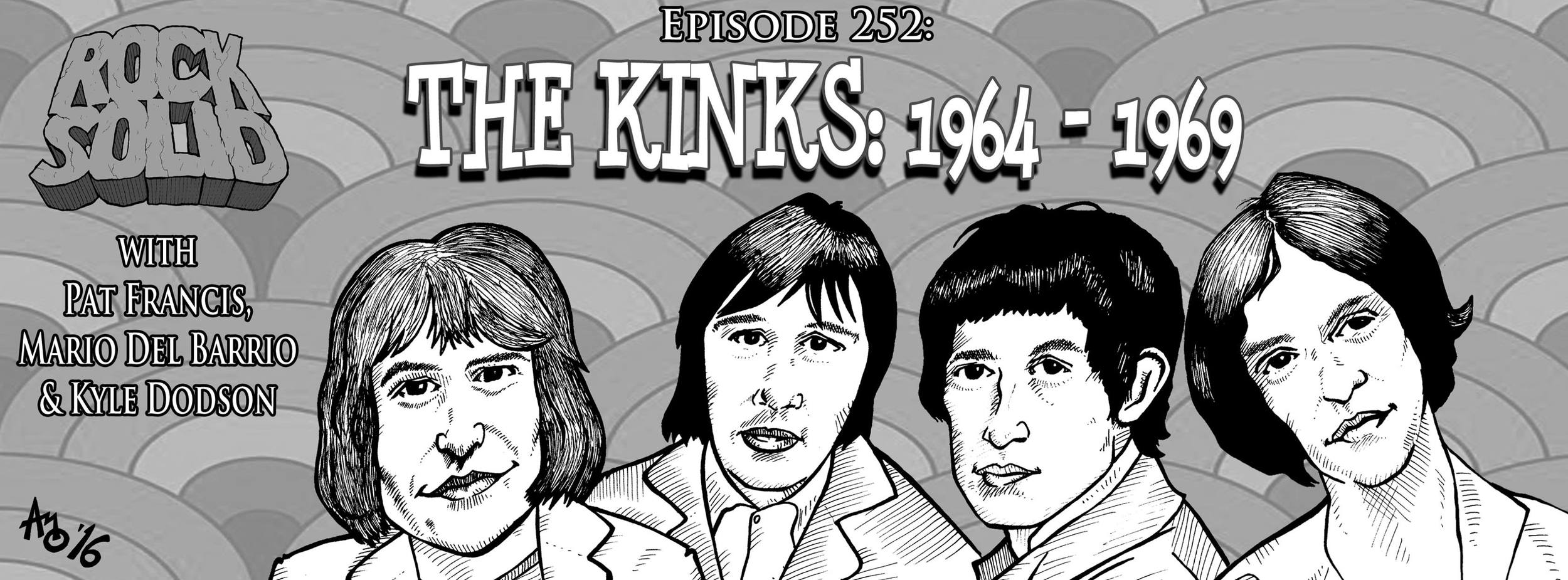 252 - The Kinks: 1964 - 1969