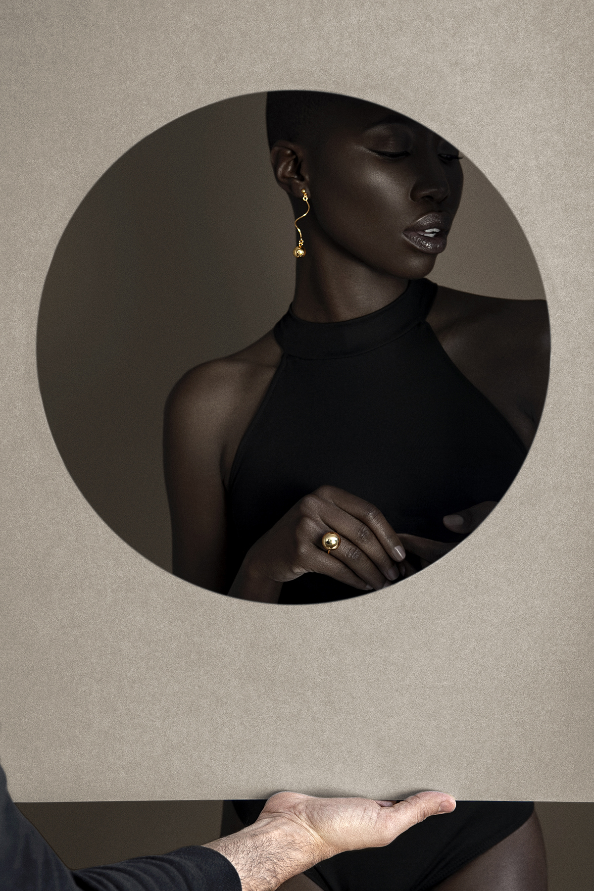 giannina oteto for nashira arno jewelry nyc based fashion latin american designer dominican republic statement gold earrings ring bold spiral sphere shop online editorial pf19 circle .jpg