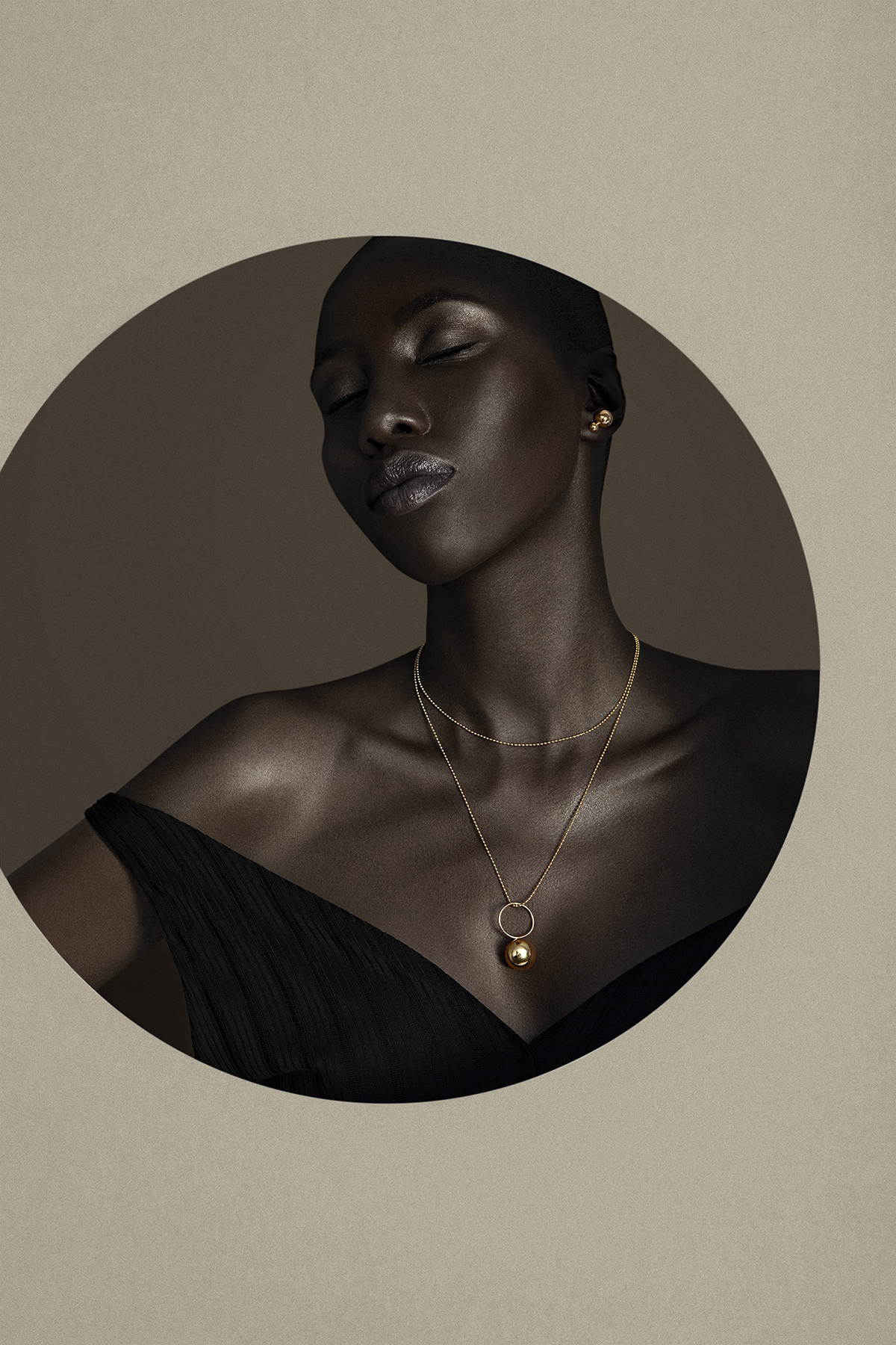 giannina oteto for nashira arno jewelry nyc based fashion latin american designer dominican republic statement gold earrings oversized ring long pendant necklace bold sphere off shoulder shop online editorial pf19 .jpg