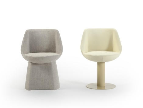 We will go to NYDC and sit in these chairs to ensure comfort for a client.  Photo - lepereinc.com