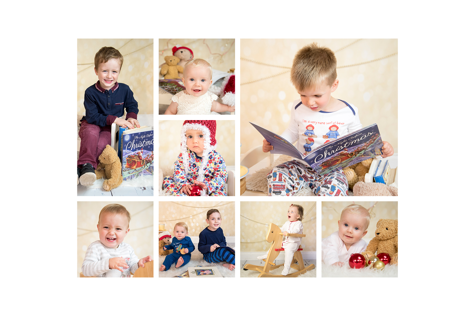 christmas photo mini session