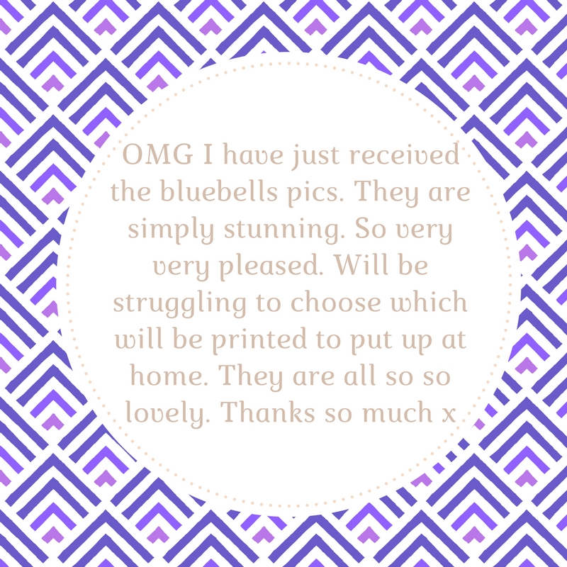 Testimonial from Bluebell Session 2017